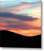 Death Valley Sunset Metal Print