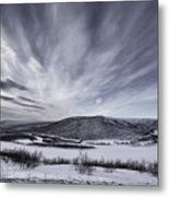 Deatnu Valley Scenery Metal Print