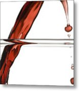Decanting Wine Metal Print by Frank Tschakert