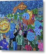 Decatur Lantern Parade Metal Print