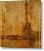 Decaying Light Metal Print