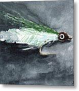 Deceiver Fishing Fly Metal Print by Sean Seal