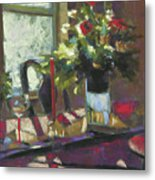 December Morning Light Metal Print