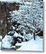 December Snows Metal Print
