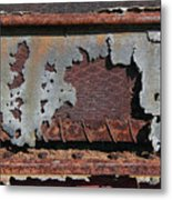 Decomposing Deering Metal Print