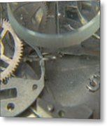 Deconstructing Time 315 Metal Print