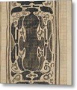 Decorative Design, Carel Adolph Lion Cachet, 1874 - 1945 Metal Print
