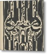 Decorative Design, Carel Adolph Lion Cachet, 1874 - 1945 H Metal Print