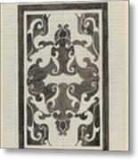 Decorative Design, Carel Adolph Lion Cachet, 1874 - 1945 Jd Metal Print