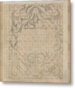 Decorative Design, Carel Adolph Lion Cachet, 1874 - 1945 Sv Metal Print