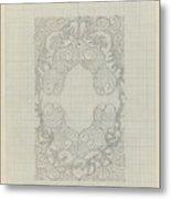 Decorative Design, Carel Adolph Lion Cachet, 1874 - 1945 Te Metal Print