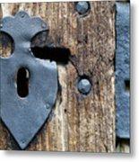 Decorative Door Fittings Metal Print