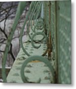 Decorative Foot Bridge Metal Print