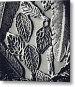 Decorative Nature Design  Metal Print