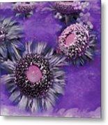 Decorative Sunflowers A872016 Metal Print