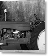 Decorative Tractor Metal Print