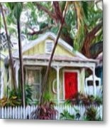 Dee Dee's Cottage Metal Print