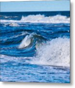 Deep Blue Sea Metal Print