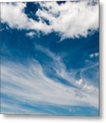 Deep Blue Sky Metal Print