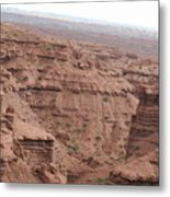 Deep Canyon In Utah Metal Print