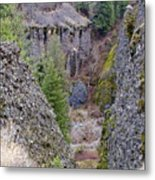 Deep Creek Gorge Metal Print
