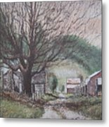 Deep Gap Metal Print