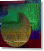 Deep Geometry Metal Print