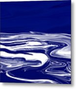 Deep In Blue Metal Print