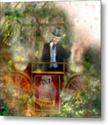 Deep In The Woods - Is The Fairyloon Man Metal Print