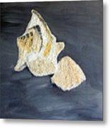 Deep Ocean Seashells Metal Print by Leslye Miller