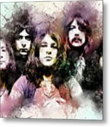 Deep Purple.rock Stars Metal Print