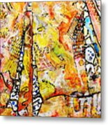 Art And Theater Metal Print