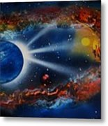 Deep Space Cavern Metal Print