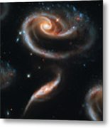 Deep Space Galaxy Metal Print