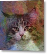 Deep Thoughts - Square Version Metal Print