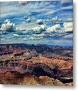 Deep Tones Grand Canyon  Metal Print