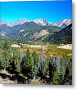 Deep Vista Metal Print