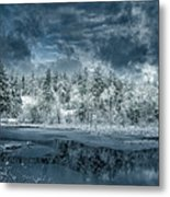 Deep Winter Metal Print