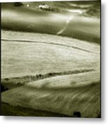 Deepening Shadows Metal Print