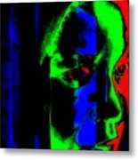 Deeper Thoughts Metal Print