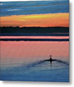 Deepest Sunset Metal Print