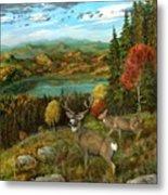 Deer Season Metal Print