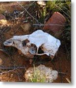 Deer Spirit Mesa Metal Print