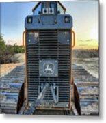 Deere Heavy Equipment  Metal Print