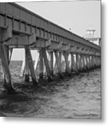Deerfield Beach Pier Metal Print