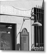 Deerfield Beach Train Station Metal Print