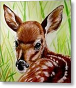 Deerly Beloved Metal Print