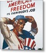 Defend American Freedom Metal Print