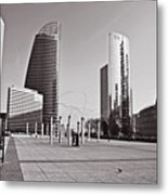 Defense Architecture Metal Print