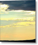 Defined Horizon Metal Print